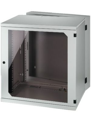 12U Sheet Steel Wall Mounted Cabinet Housing for 482 mm (19