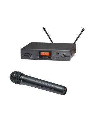 Audio Technica ATW-2120B/U Hand Held Microphone System