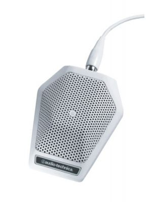 Audio Technica U851R Cardioid Condenser Boundary Microphone Black or White