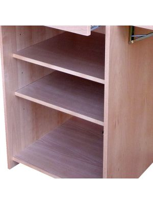 Wood Lecterns / AV Cabinets -  Internal Shelf
