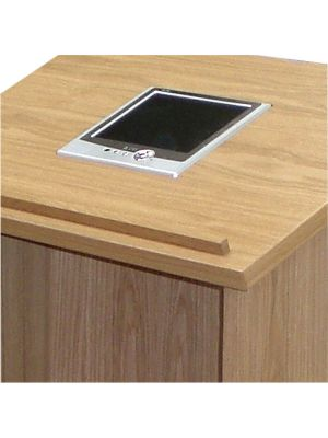 Wood Lecterns -  Screen or Monitor Fitting