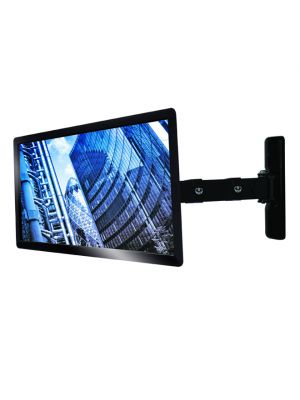 B-Tech Single arm flat screen wall mount with tilt and swivel, 15