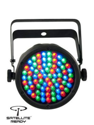 Chauvet LED Par Light SlimPAR 38 LED RGB PAR Can with 75x10mm LED 185mm