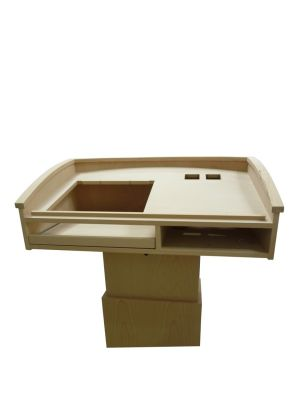 Wood Lecterns -  Cutouts