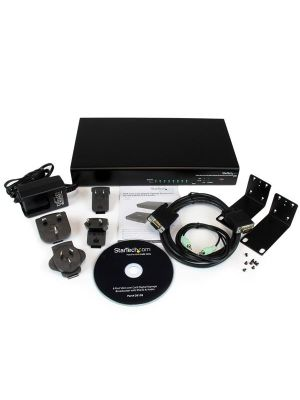 StarTech  8 Port VGA over Cat5 Digital Signage Broadcaster with RS232 & Audio