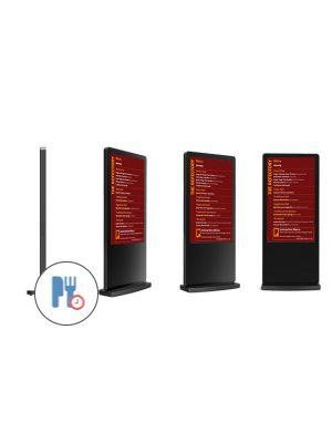dsign Menu Boards - 55 Inch Freestanding Totem (Touchscreen)