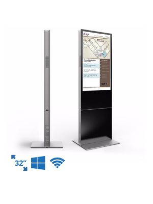 dsign Events - Room Schedule Display - 32 Inch Premium Freestanding Totem