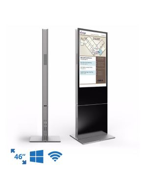 dsign Events - Room Schedule Display - 46 Inch Premium Freestanding Totem