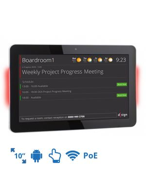 dsign Events - Room Info Screen - 10 Inch (Android LED)