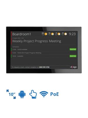 dsign Events - Room Info Screen - 10 Inch (Android)