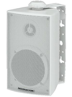Monacor ESP-215/WS  100v line technique 30W PA wall speakers (pair)