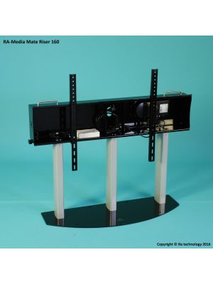 RA Technology Media Mate Electric Riser  Screen Mount  up to 160kgs
