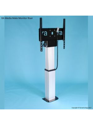 RA Technology Media Mate Electric Monitor Riser up to 75