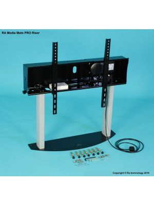 RA Technology Media Mate Electric PRO Riser  Screen Mount  up to 120kgs