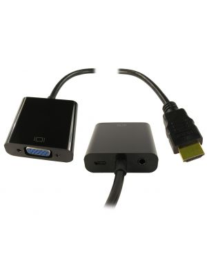 HDMI (SOURCE) - VGA(DISPLAY) ADAPTOR