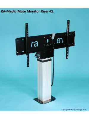 RA Technology Media Mate Electric Monitor Riser XL up to 86