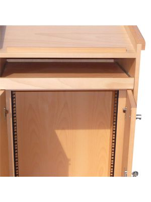 Wood Lecterns / AV Cabinets -  Rack Strips & Spacers