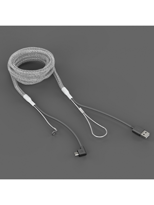 Bouncepad 2m Reinforced Micro-USB Cable