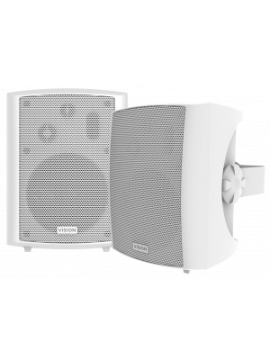 Vision SP-1800 50W wall speakers White (pair)
