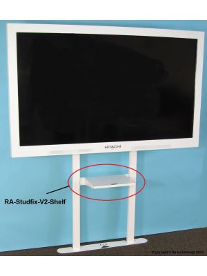 RA Technology RA-Studfix V2 with Shelf - Screens Up To 80kg
