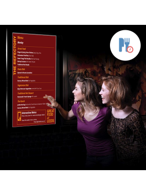 dsign Menu Boards - 42 Inch Wall Mounted (Touchscreen)